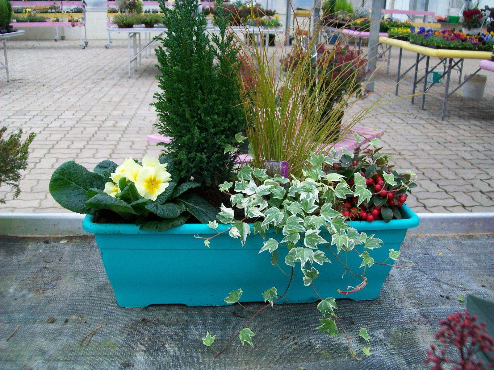 Jardini re pour balcon terrasse en hivers for Jardiniere double pour balcon