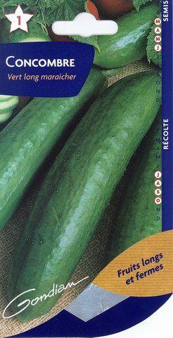Concombre vert long mara cher for Entretien concombre jardin